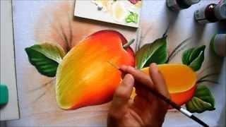 Como pintar manga em tecido