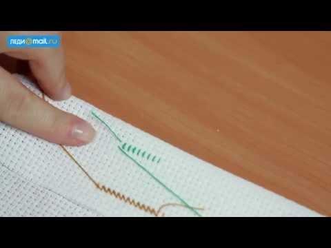 Как научиться вышивать крестиком видео уроки начинающим