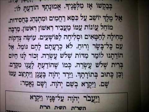Selichot at Petah Tikva (Sephardic) - Anshe Castilla (2009)
