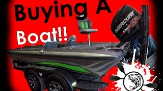 NOOB! Buying a Bass Boat for Beginners! The struggle is real....fun!