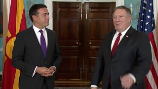Secretary Pompeo Meets with Macedonian Foreign Minister Dimitrov