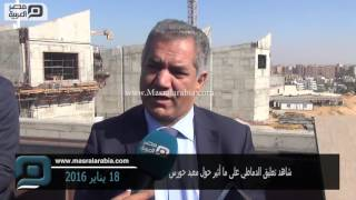 مصر العربية | شاهد تعليق الدماطي على ما أثير حول معبد حورس