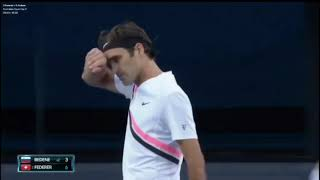 Roger Federer vs Aljaz Bedene R1 AO2018 [HIGHLIGHTS]