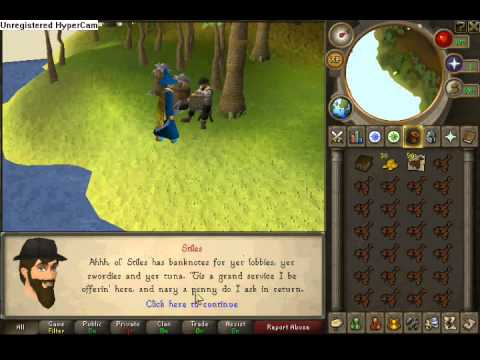 how to catch lobster runescape