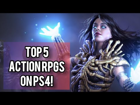 Top 5 Action RPGs On PS4!