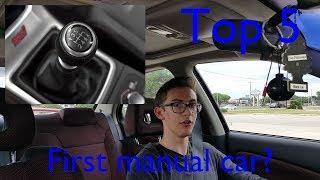 5 кращих автомобілів, щоб дізнатися палиці (МКПП) в