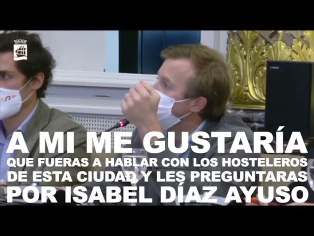 Borja Corominas Debate de Ordenanzas Fiscales 4