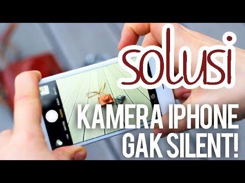 Cara Silent Camera iPhone 5S.