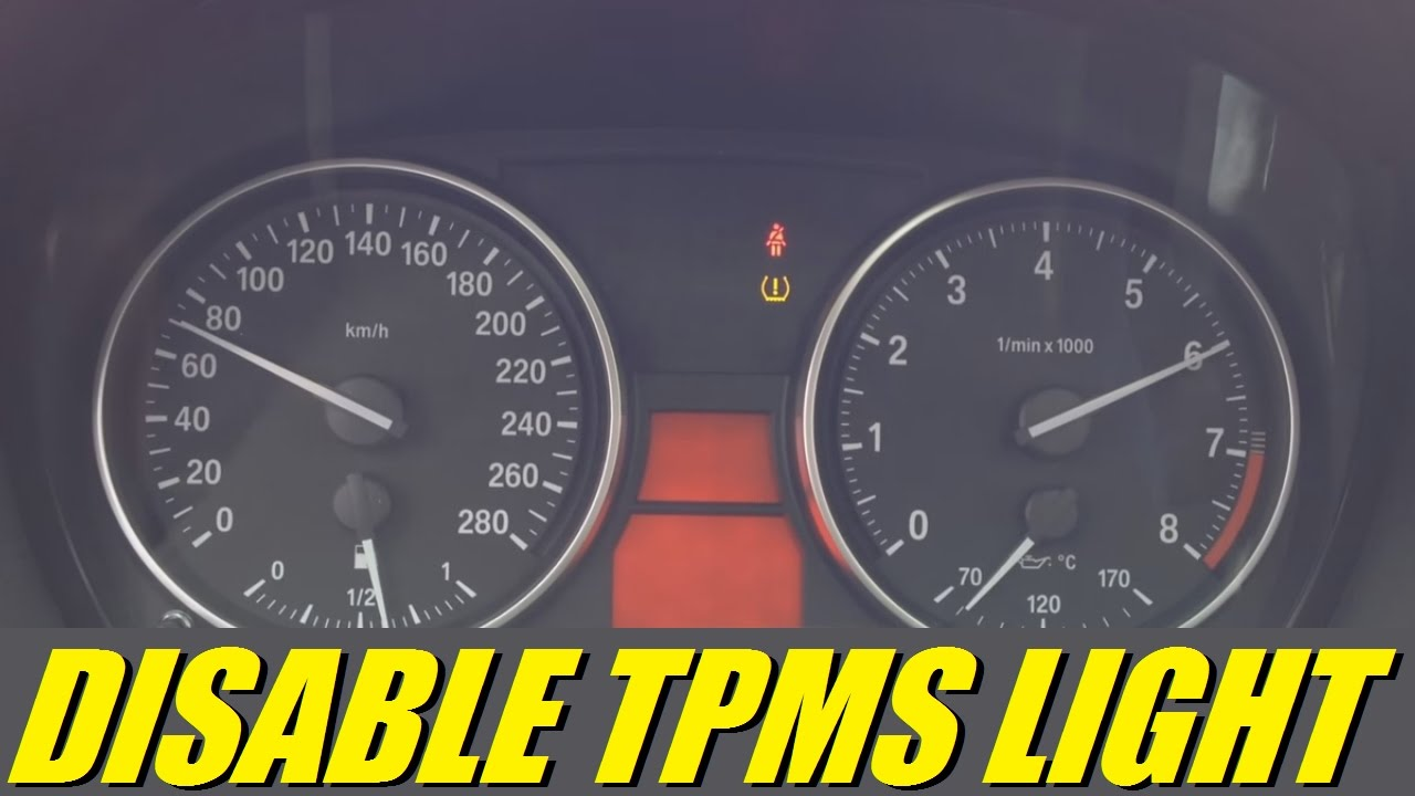 Bmw E90 E92 3 Series How To Disable Tpms Light In 30 Sec With Jb4 1997 318i Fuse Diagram