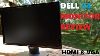 Dell 24 Monitor review - SE2416H 1080p HDMI VGA