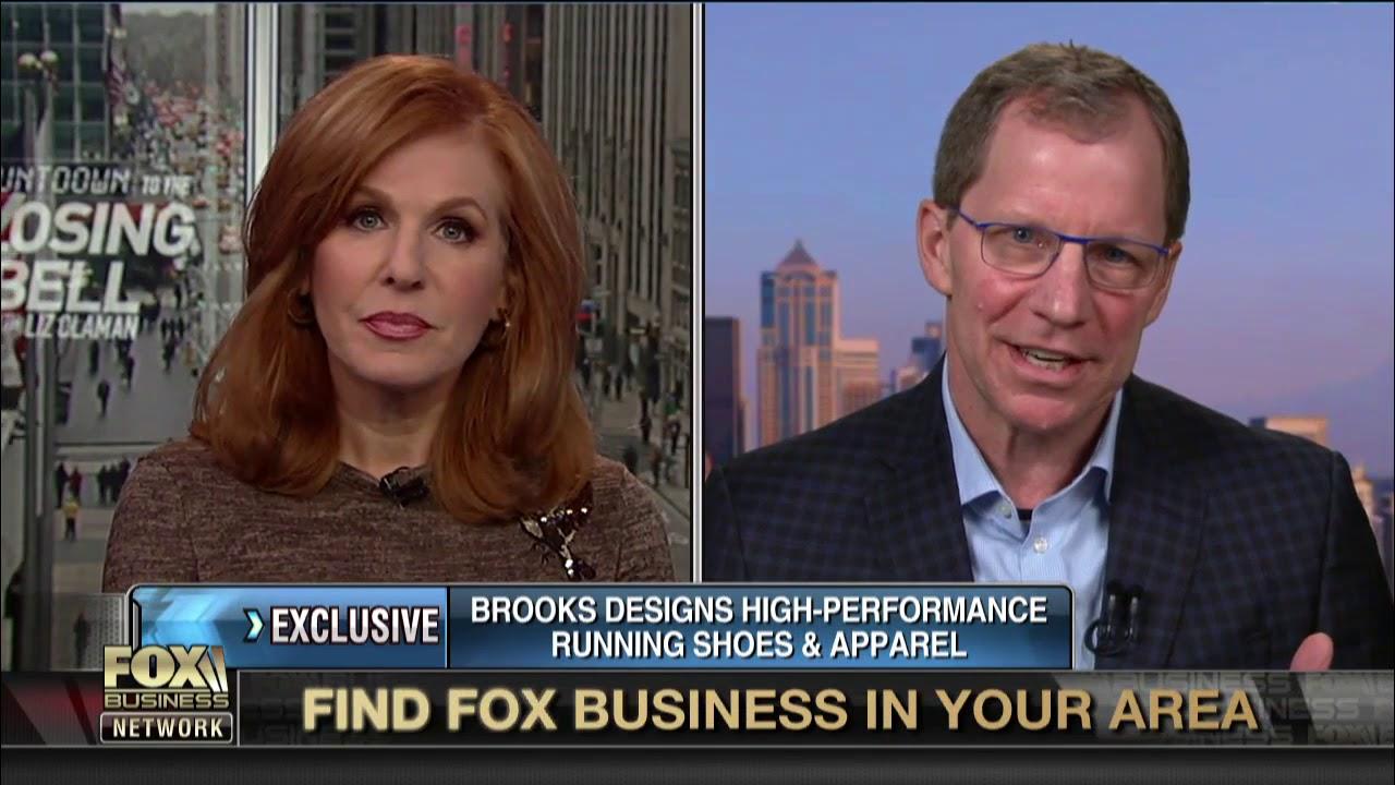 Brooks Running CEO Jim Weber considers