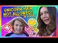 SCHOOL DOESN'T ALLOW KAYLA'S HAIR COLOR! | We Are The Davises