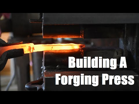 Building a 24 Ton Log-Splitter Forging Press!