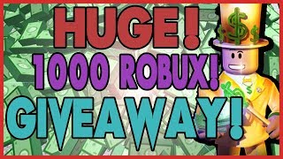 [1000-ROBUX] 10,000 SUBSCRIBERS SPECIAL GIVEAWAY! Roblox