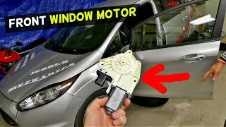 FORD FIESTA MK7 FRONT WINDOW MOTOR REMOVAL REPLACEMENT