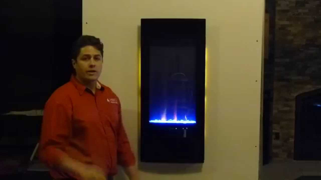 napoleon vertical azure nefv38h electric fireplace product review