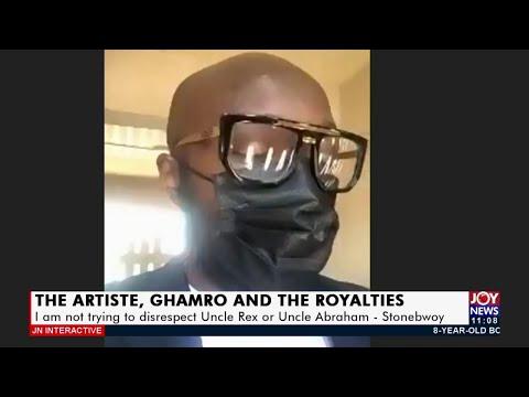 The Artiste, Ghamro, and The Royalties - JoyNews Interactive (31-8-21)