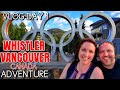 Driving 'Sea to Sky' Highway from Whistler to Vancouver British Columbia Canada  BC 99 Road Trip