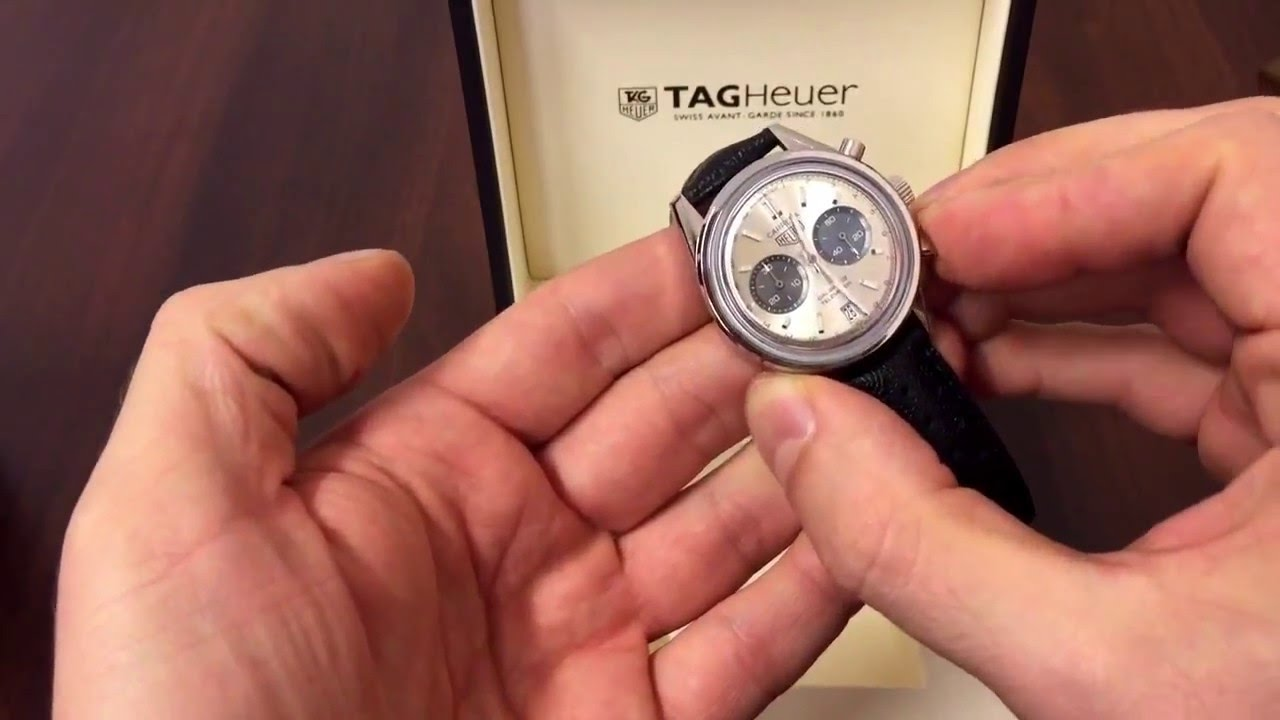2da655af072 TAG Heuer Carrera Calibre 18 - YouTube
