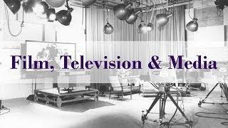Film, Television and Media Webinar