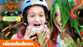 Camp Nick Summer Fun! 😎 ft. Annie LeBlanc, Jayden Bartels & More! | Nick