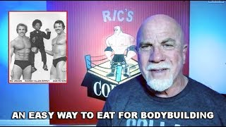 An Easy Way To Eat for Bodybuilding  Old School Style