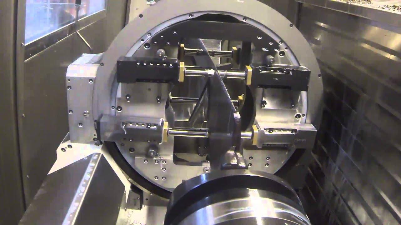 Video of Interesting Turbine Blade Workholding System