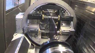 Video of Interesting Turbine Blade Workholding System