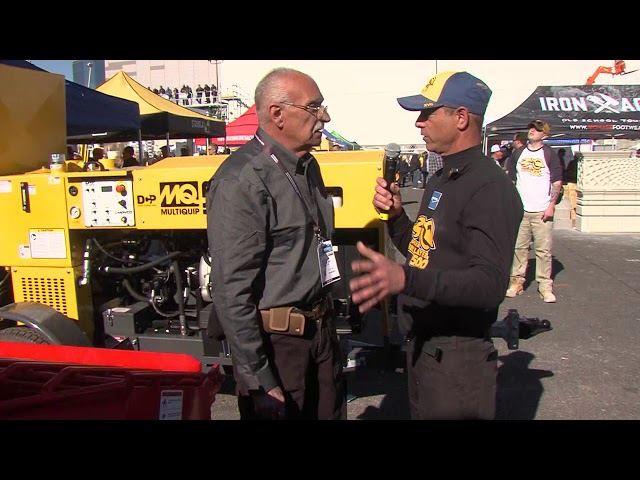 Multiquip at the 2019 SPEC MIX BRICKLAYER 500®