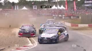 World RX - 2016 Rallycross of France - Supercar final Highlights