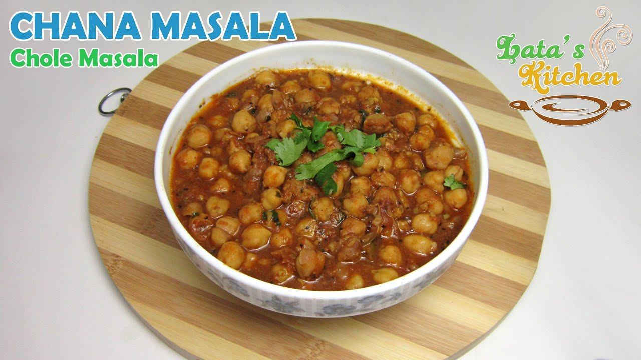 Chana masala chole masala indian vegetarian recipe in hindi chana masala chole masala indian vegetarian recipe in hindi latas kitchen youtube forumfinder Choice Image