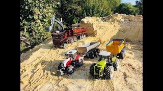 Rc Truck Und Traktor Action Fendt 926 Claas Xerion Steyr 6230 Volvo Bagger