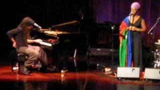 India Arie and Idan Raichel singing in Hebrew Mey Nahar מי נהר