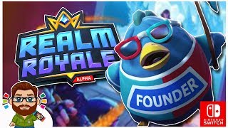 Realm Royale On Switch! It's Like Fortnite But There's Chickens!
