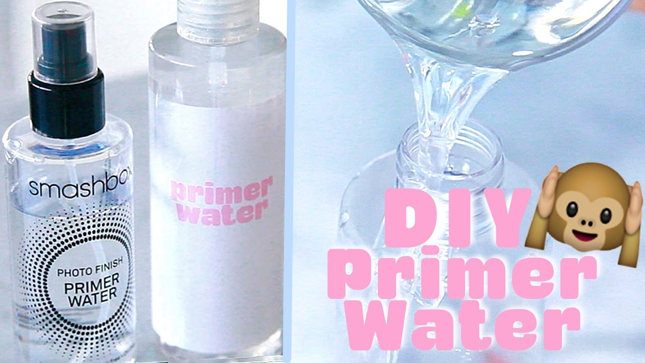 Make your own smashbox primer water back to school diy youtube solutioingenieria Choice Image