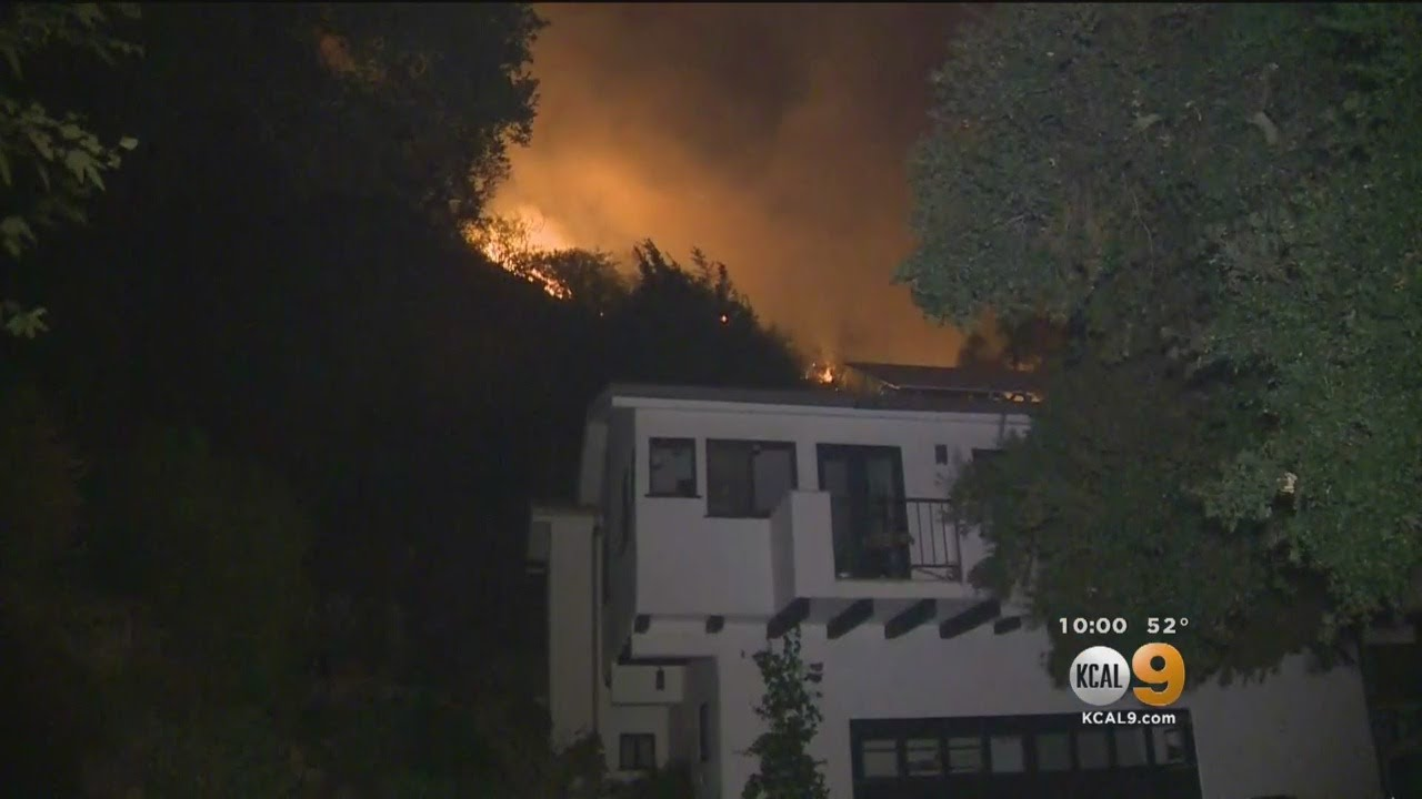 Thomas Fire Threatens Homes In Santa Barbara