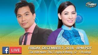 Livestream với Phi Nhung & Mạnh Quỳnh - Dec. 7, 2018
