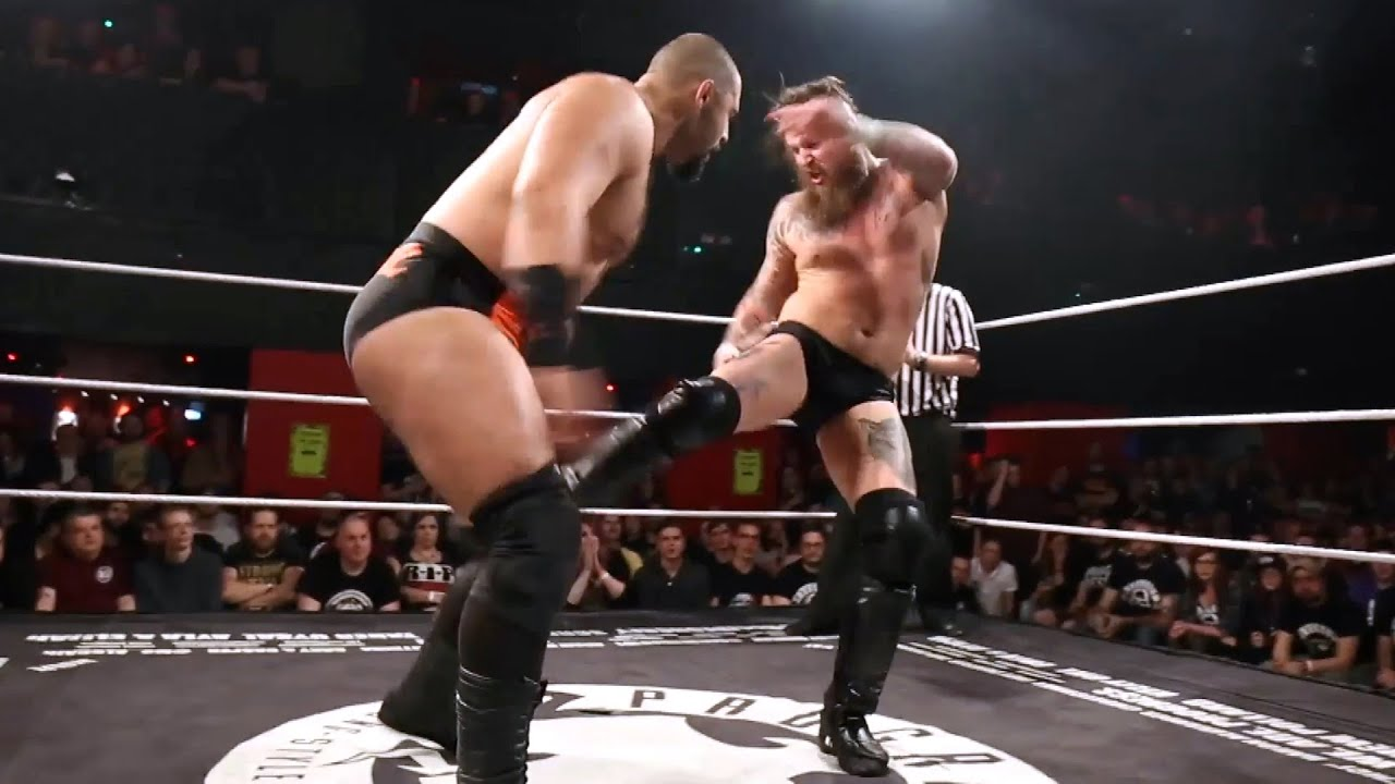 Aleister Black unleashes his fury on Rampage Brown (WWE Network Exclusive)