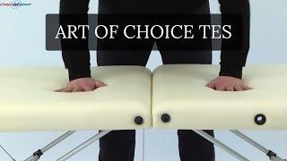Art of Choice TES массажный стол | Обзор стола для массажа TES