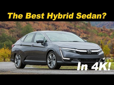 2018 Honda Clarity Plug In Hybrid Review / Comparison - In 4K