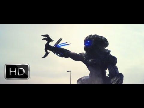 Beyond skyline : Alien pulling theme inside him scene HD