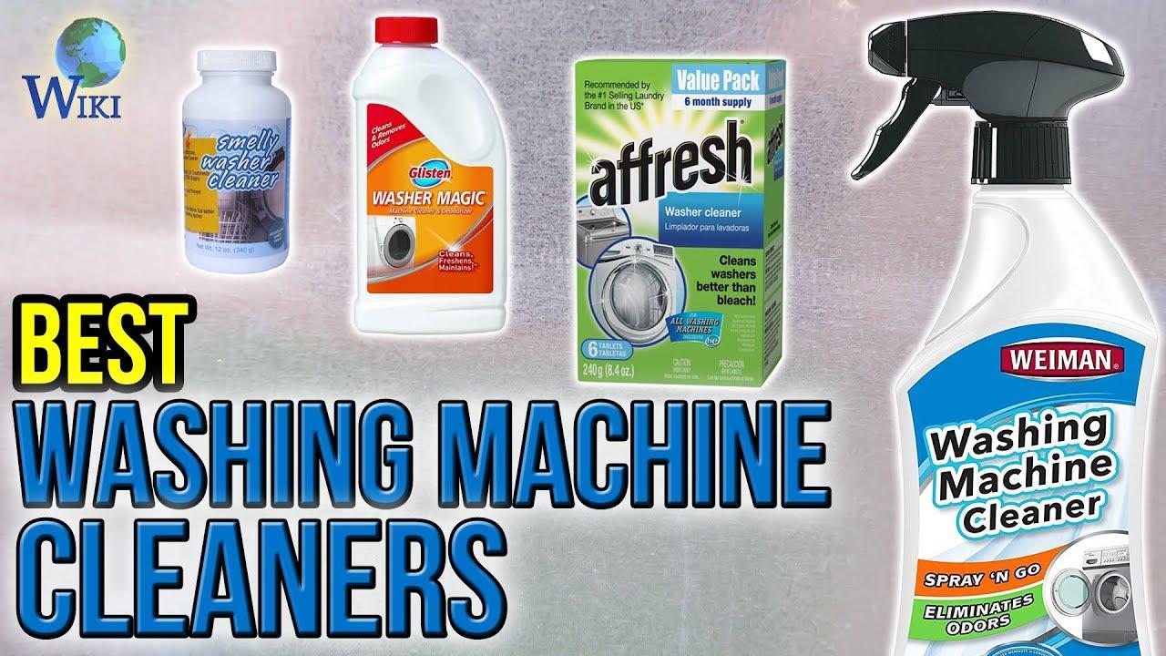 9 Best Washing Machine Cleaners 2017