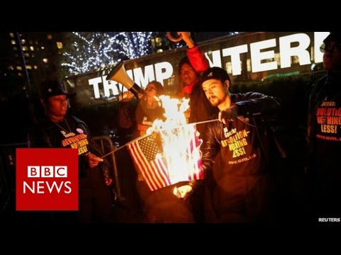 US Activist: 'Why I Burned American Flag' - BBC News