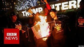 US activist  'Why I burned American flag'   BBC News