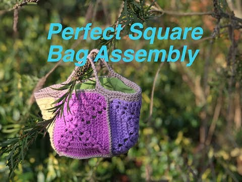 Ophelia Talks about Assembling the Perfect Square Bag