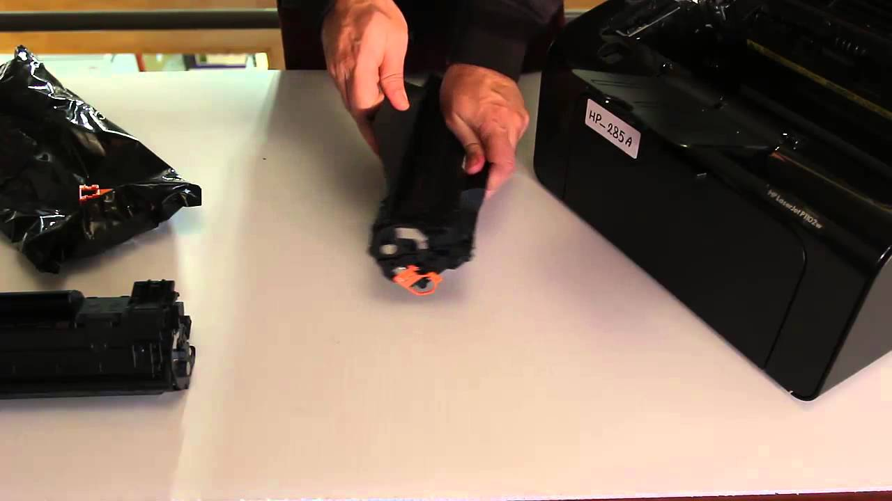 How to Replace HP Toner Cartridge CE285A For HP P1102W or Similar Models