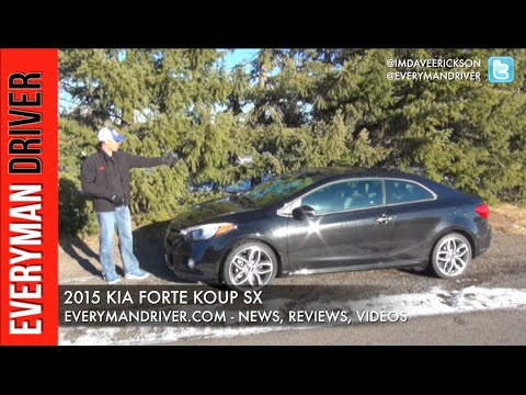 Review: 2015 Kia Forte Koup on Everyman Driver