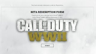Call Of Duty WWII BETA: How To Sign Up & Check Your Status (COD WWII)