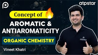Aromaticity and antiaromaticity in organic chemistry