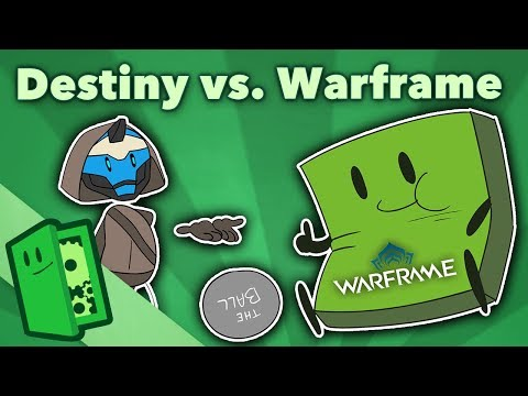 Destiny vs. Warframe - $500 Million in Free Marketing - Extra Credits